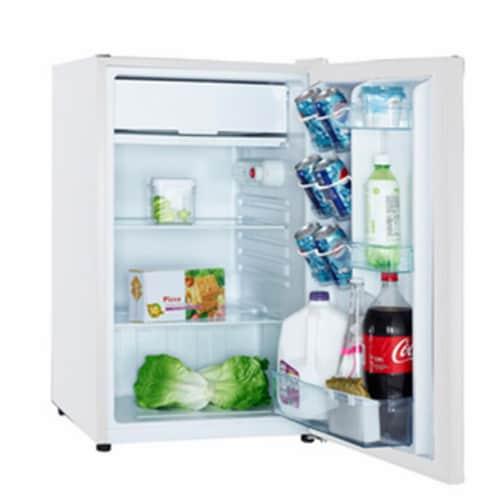 Avanti  Refrigerator/Freezer RM4406W Perspective: front