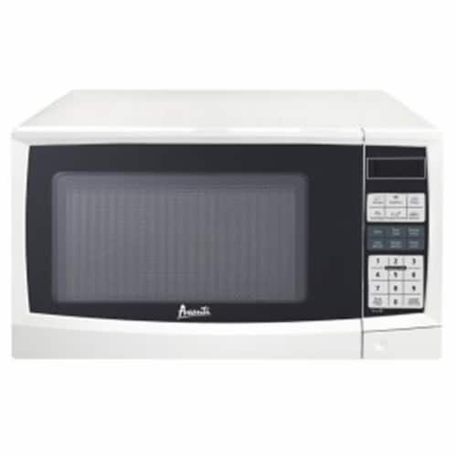 Avanti MT9K0W 0.9 cu ft. Microwave Oven, White Perspective: front