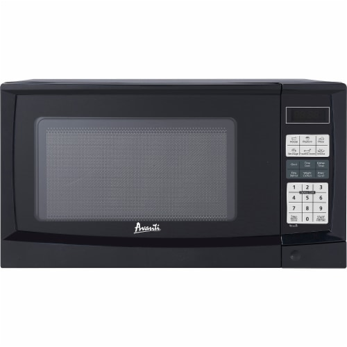Avanti MT9K1B 0.9 Cu.Ft. Black Counter-Top Microwave Perspective: front