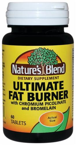 Nature's Blend Ultimate Fat Burner Tablets 60 Count Perspective: front