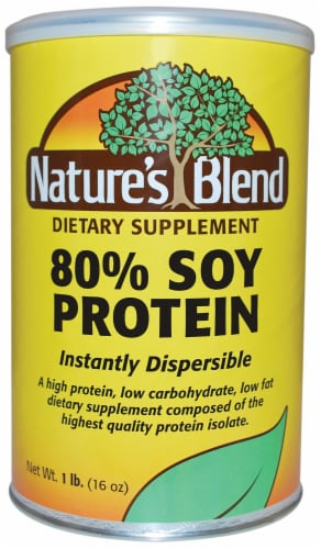Nature's Blend 80% Soy Protein Powder Perspective: front