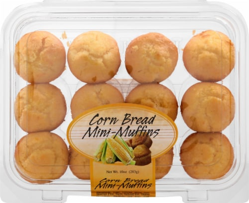 Olson's Baking Company Corn Bread Mini Muffins 12 Count Perspective: front