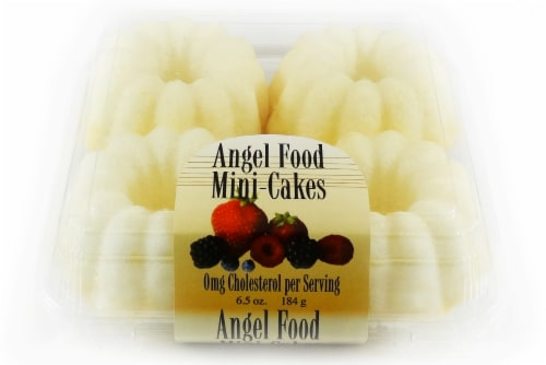 Olson's Baking Company Mini Angel Food Cakes Perspective: front