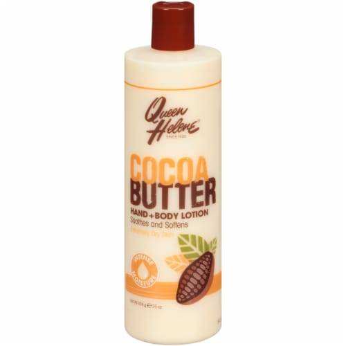 Queen Helene Cocoa Butter Hand and Body Lotion Perspective: front