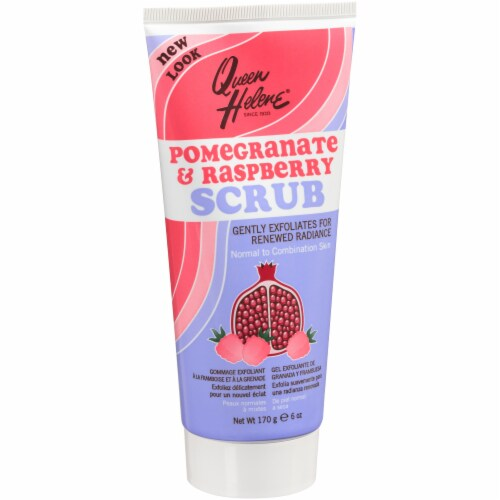 Queen Helene Pomegranate & Raspberry Facial Scrub Perspective: front
