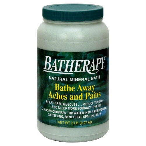 Queen Helene Batherapy Natural Mineral Bath Perspective: front