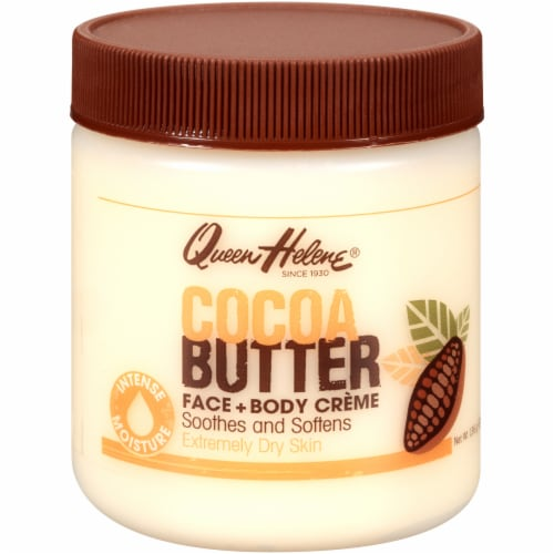 Queen Helene Cocoa Butter Face & Body Creme Perspective: front