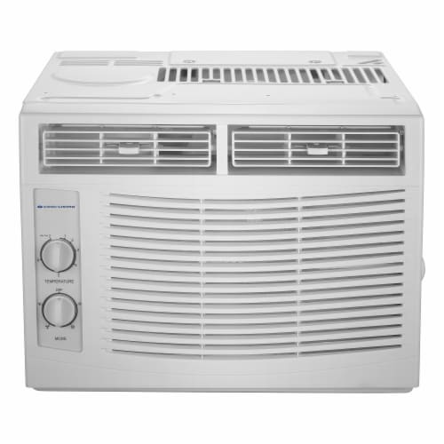 Cool Living 5000 BTU Window Air Conditioner Perspective: front