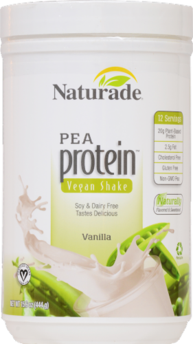 Naturade Pea Protein Vegan Shake Vanilla Perspective: front