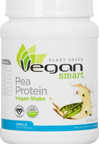 Naturade Pea Protein Vanilla Vegan Shake Perspective: front