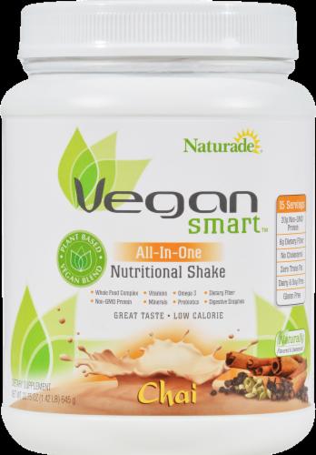 Naturade Vegan Smart Shake Chai Perspective: front