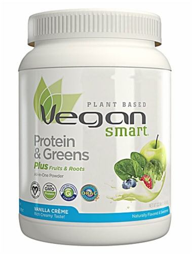 Naturade Vegan Smart Vanilla Protein Perspective: front