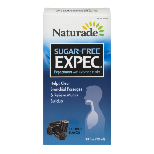 Naturade Sugar Free Expec Herbal Expectorant Perspective: front