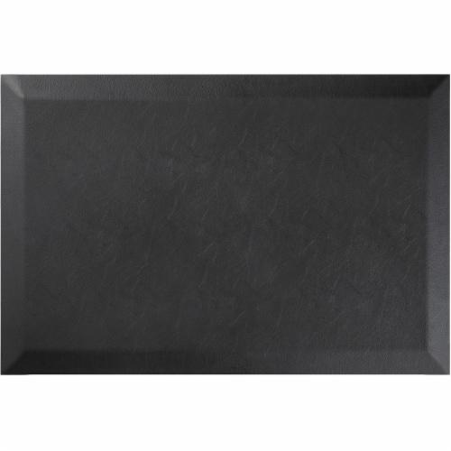 Deflecto DEFAF1824PU Anti-Fatigue Mat, Black Perspective: front