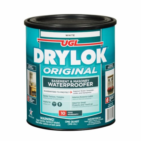 UGL® Drylok® Original White Basement and Masonry Waterproofer Perspective: front