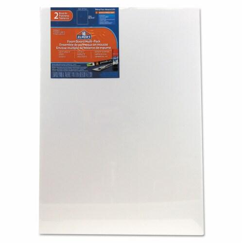 Elmer's White Pre-Cut Foam Board Multi-Packs, 18 X 24, 2/Pk 950023 Perspective: front