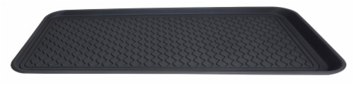 Hopkins Boot Tray - Black Perspective: front