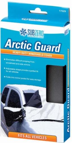 Hopkins Sub-Zero Artic Guard Heavy-Duty Windshield Cover - Black Perspective: front