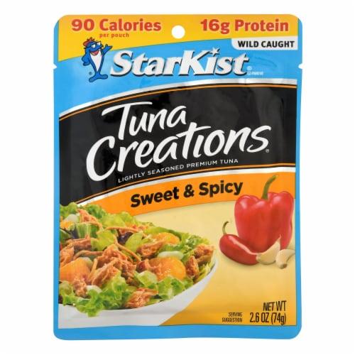 StarKist Tuna Creations Sweet & Spicy Seasoned Tuna Perspective: front