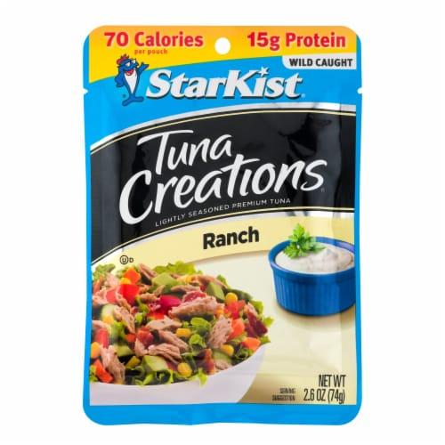 StarKist Tuna Creations Ranch Seasoned Tuna Perspective: front