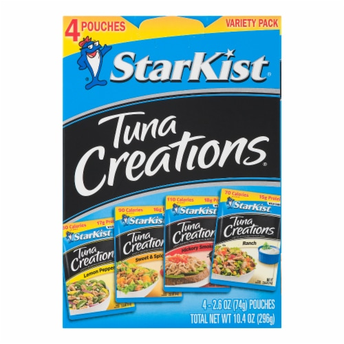 StarKist Tuna Creations Pouches Variety Pack Perspective: front