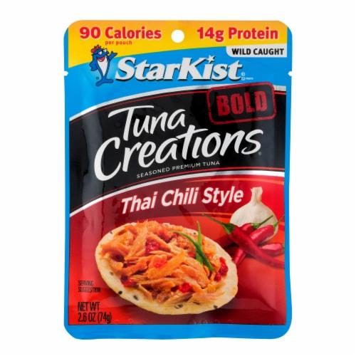 StarKist Tuna Creations Bold Thai Chili Style Seasoned Tuna Perspective: front