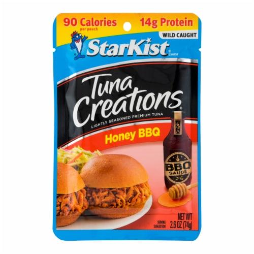 StarKist Tuna Creations Honey BBQ Seasoned Tuna Perspective: front