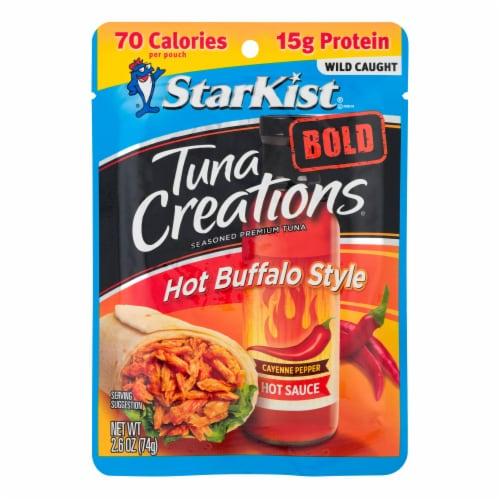 StarKist Tuna Creations Bold Hot Buffalo Style Seasoned Tuna Perspective: front