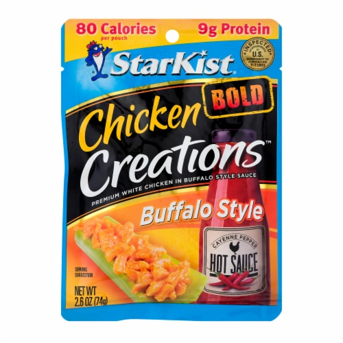StarKist Chicken Creations Bold Buffalo Style Chicken in Sauce Perspective: front