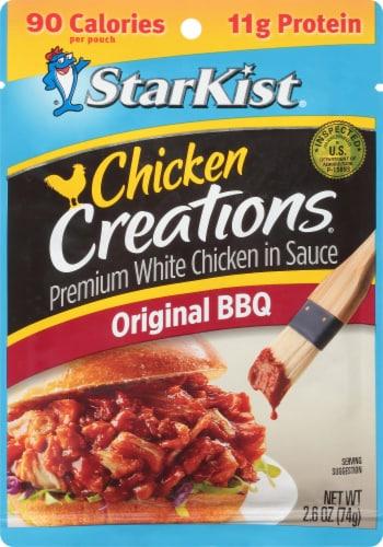 StarKist Chicken Creations Classic BBQ Chicken in Sauce Perspective: front