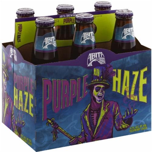 Abita Purple Haze Raspberry Lager Perspective: front