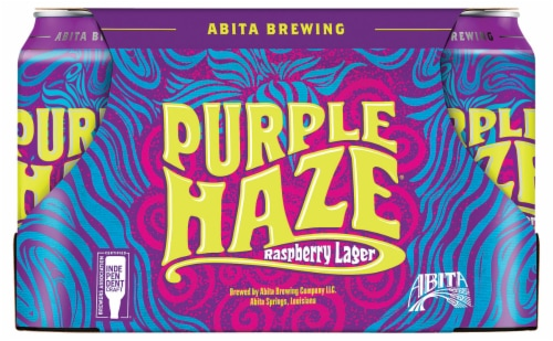 Abita Brewing Purple Haze Raspberry Lager Perspective: front