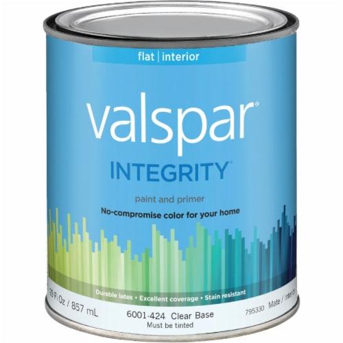 Valspar Int Flat Clear Bs Paint 004.6001424.005 Perspective: front