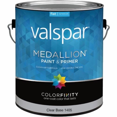 Valspar Int Flat Clear Bs Paint 027.0001405.007 Perspective: front