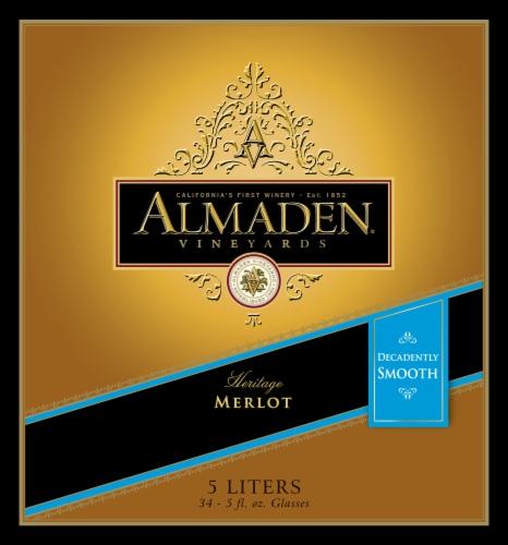 Almaden Merlot Red Wine Perspective: front