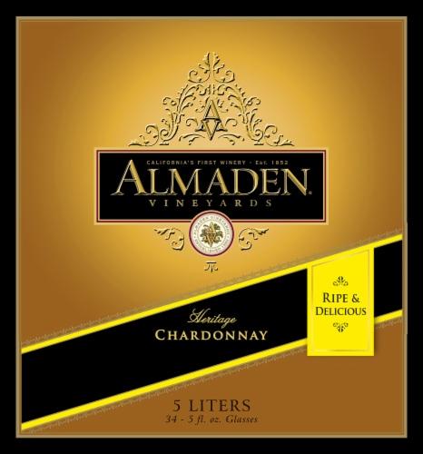 Almaden California Chardonnay White Wine Perspective: front