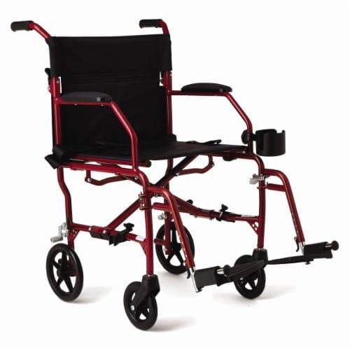 Medline Super Light Wheelchair Perspective: front