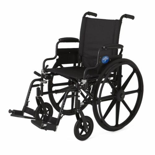 Medline Excel Wheelchair Perspective: front