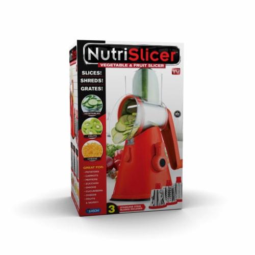 NutriSlicer Vegetable & Fruit Slicer Perspective: front