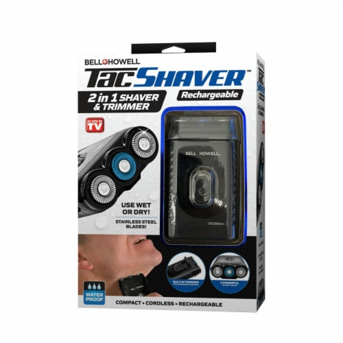 Bell and Howell Tac Shaver Perspective: front