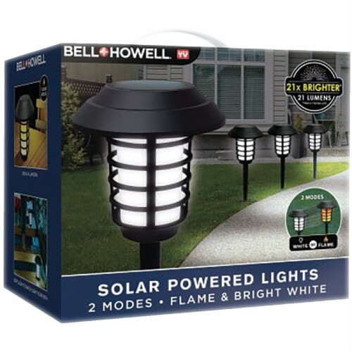 Bell+Howell® Solar Powered Pathway Lights Perspective: front