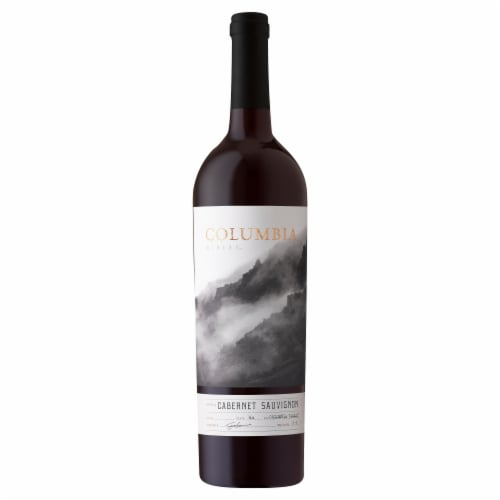 Columbia Winery Cabernet Sauvignon Red Wine Perspective: front