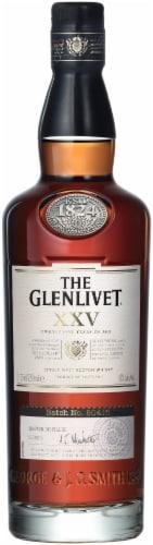 Glenlivet 25 Year Old Single Malt Scotch Whisky Perspective: front