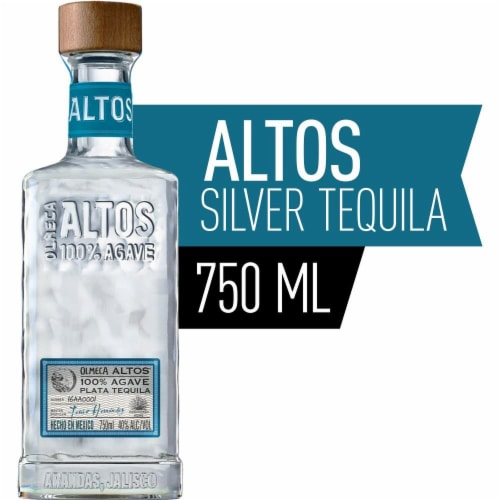 Altos Tequila Plata Perspective: front