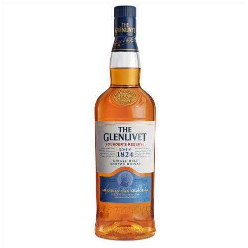 The Glenlivet Founder's Reserve Single Malt Scotch Whisky Perspective: front