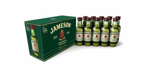Jameson Irish Whiskey Bottles Perspective: front