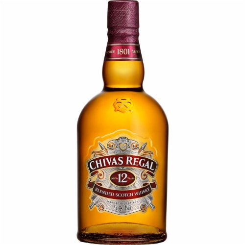 Chivas Regal Whisky 12 Year Old Perspective: front