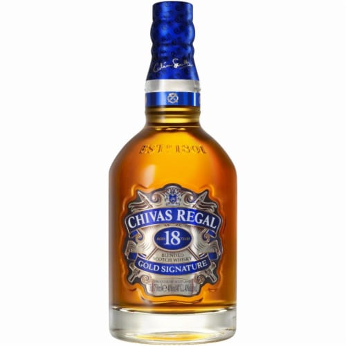 Chivas Regal Gold Signature 18 Year Blended Scotch Whisky Perspective: front