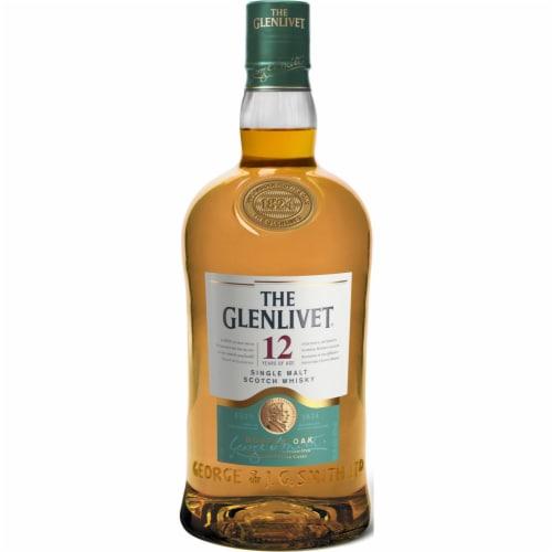 The Glenlivet 12 Year Single Malt Scotch Whisky Perspective: front