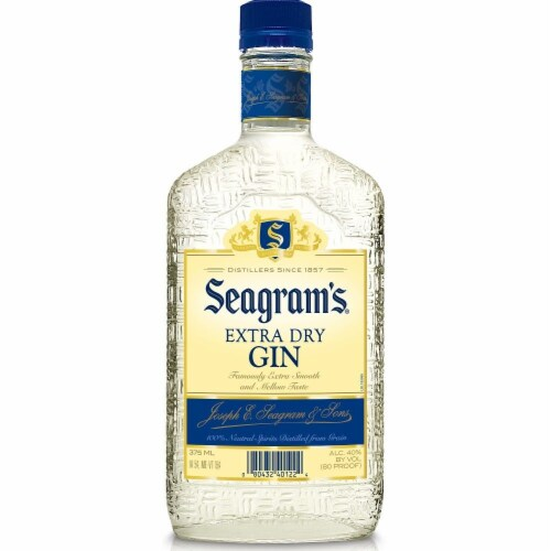 Seagram's Extra Dry Gin Perspective: front